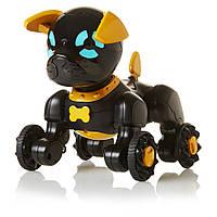 Интерактивный маленький щенок Чип черный