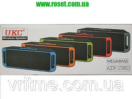 Портативна Bluetooth колонка UKS Wireless Speaker Megabass A2DP Stereo SC-208
