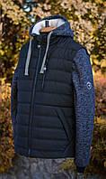 Разборная куртка-жилет со съемными рукавами и капюшоном на меху! Коллекция осень-зима 2017-18.