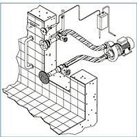 Гидромассаж Combi Whirl 1  присоединительный комплект 2,2 кВт, DS