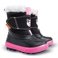 Сапоги зимние детские Demar BEAR розовые