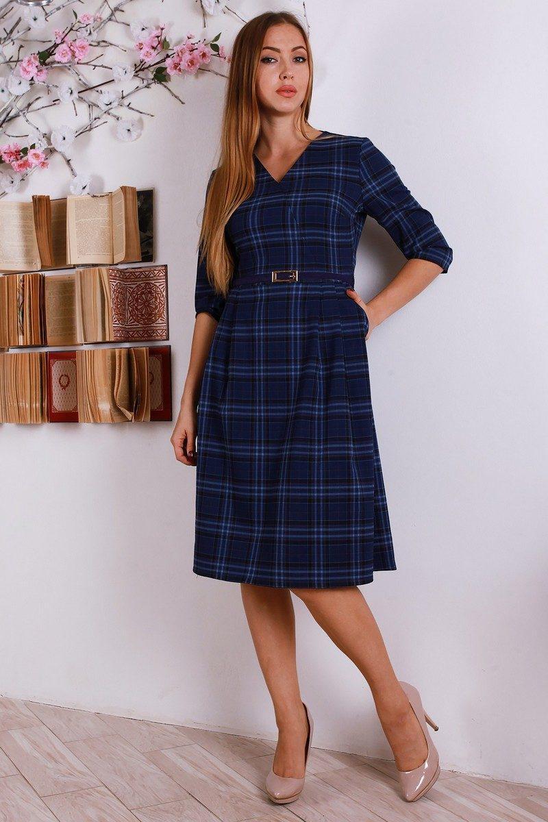 9e150a66ed5 Шерстяное платье в клетку - Оптово - розничный магазин одежды