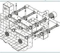 Комплект Combi Whirl 4 гидромассаж 5,5 кВт, DS