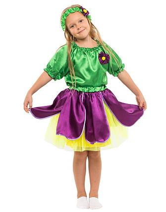 Карнавальный костюм Фиалка, фото 2