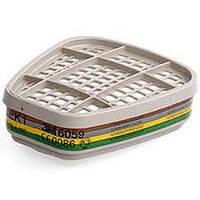 3M 6059 Фильтр  для защиты от органических/неорганических паров и амиака (класс защиты ABEK1)
