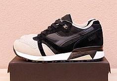 Зимние мужские кроссовки Diadora коричнево-бежевые