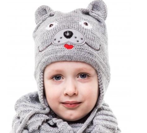 Шапка Дружок детская для мальчика, фото 1