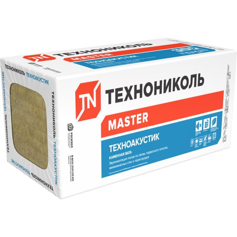 Утеплитель  Техноакустик 1200х600х100 40пл.