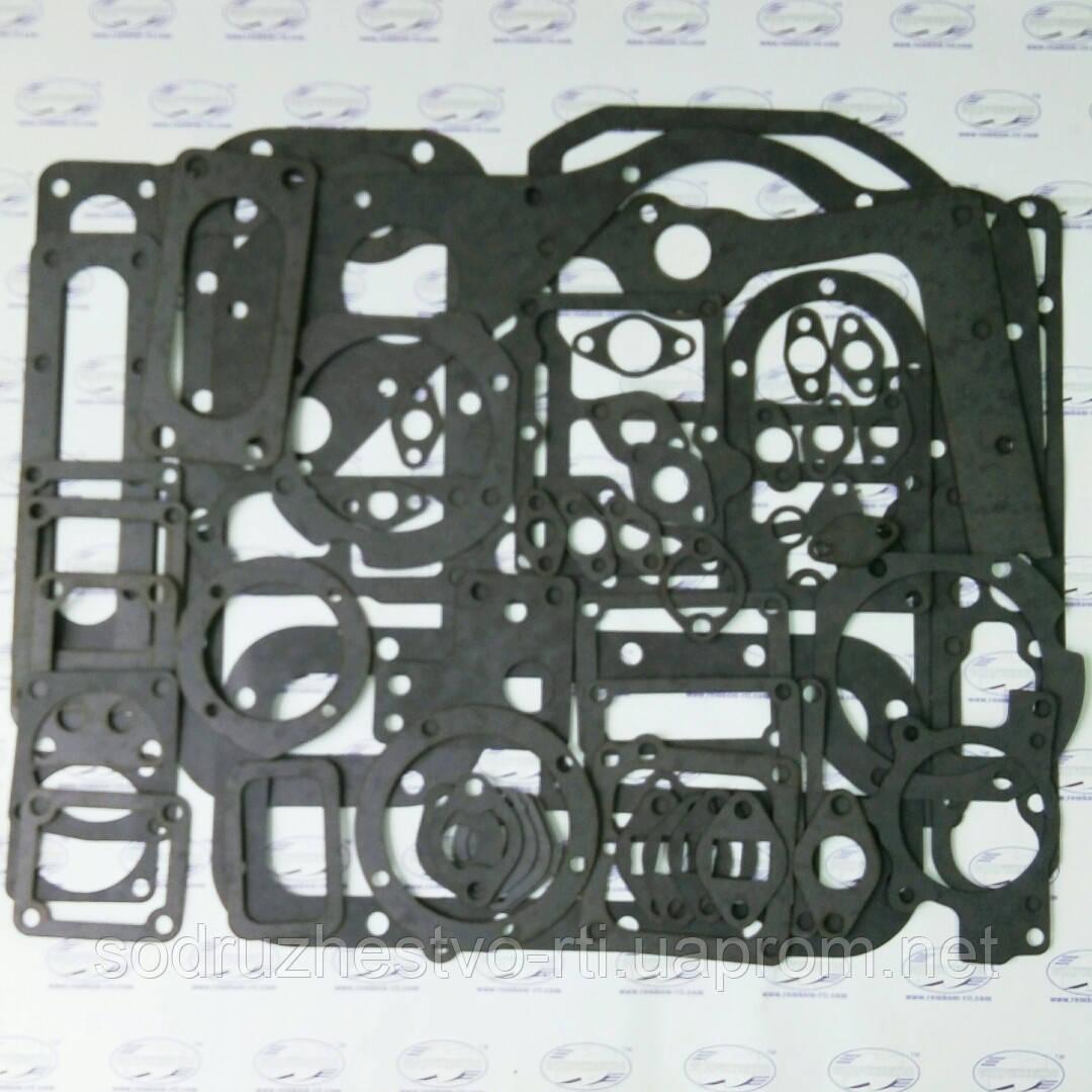 Набор прокладок для ремонта двигателя Д-160 трактор Т-170 / Т-130 (прокладка кожкартон TEXON) (малый набор)