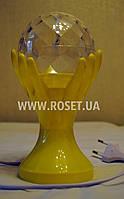 LED Диско-лампа проектор в виде трофея (LED Full Color Rotating Lamp), фото 1