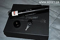 Лазерная указка Laser Pointer TYLaser-306 RED с фокусировкой + защита от детей, фото 1
