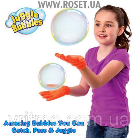 Волшебные мыльные пузыри Juggle Bubbles