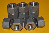 Гайка М22 ГОСТ 9064-75 для фланца нержавеющая