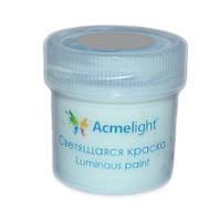 Светонакопительная краска Acmelight прозрачная, зеленое свечение, 20мл