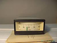 Милливольтметр для измерения и регулирования температуры типа Ш4541 на 400 град. С