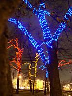 """Оформление деревьев led-гирляндой """"String"""" (""""Нить"""")"""