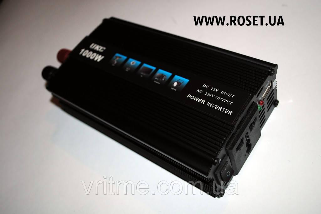 Преобразователь электроэнергии инвертор UKC Inverter I-Power SSK 1000W