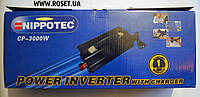 Инвертор Nippotec CP-3000W с зарядным устройством на 10 A, фото 1