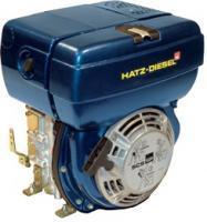 Одноцилиндровые двигатели HATZ 1B20, 1B27, 1B30, 1B40, 1B50