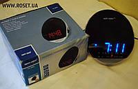 Настольные светодиодные часы Радиоприемник Happy Sheep YJ-382, фото 1