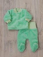 Комплект-костюмчик для новорожденных тёплый