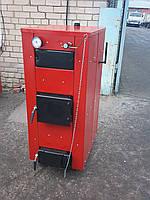 Котел твердотопливный  пиролизный длительного горения КОП 10-ВД мощностью 10 кВт