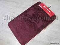 Набор ковриков в ванную и туалет MAXIMUS 50*80 см