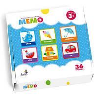 Детская развивающая настольная игра «Мемо» 300104 DoDo