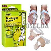 Бандаж для большого пальца ноги - Goodnight Bunion (2 шт), фото 1