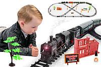 Большая железная дорога с парой Rail King 7 м