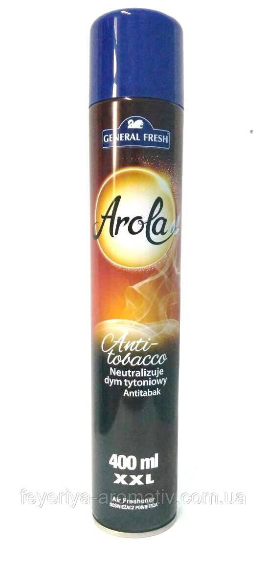 Освежитель воздуха спрей General FreshAnti-tobacco400мл