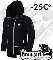 Braggart 'Black Diamond'. Парка зимняя 3101 черная