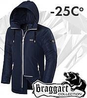 Braggart 'Black Diamond'. Парка зимняя 3101 темно-синяя
