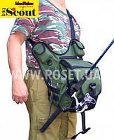 """Сумка для ходовой рыбалки с держателем удилища - СКАУТ S55cout 1.0 """"Свободные руки"""", фото 1"""