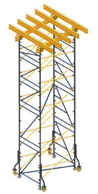 Опорна вежа перекриттів 8м