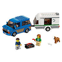 Конструктор Лего Оригинал Путешествие на колёсах LEGO City 60117