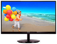 "Монитор Philips 23"" 234E5QSB/01 Black IPS; 1920 x 1080, 14 мс, 250 кд/м2, DVI"