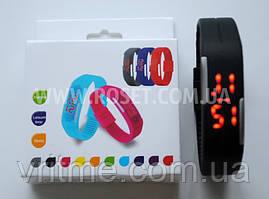 Часы Led детские Jelly Electronic Watch Black&White (черный цвет)