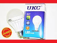 Лампочка LED LAMP E27 9W Круглая UKC