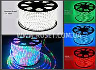 Светодиодная лента Дюралайт LED SMD 5050 красный, синий, белый, зеленый, мульти (Режим кратно 10м, Бухта 100м), фото 1