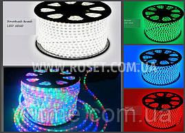 Светодиодная лента Дюралайт SMD 5050 теплый белый, красный, синий, белый, зеленый, мульти (Режим кратно 10м)