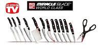 Набор профессиональных кухонных ножей - Miracle Blade World Class 13-pcs Knife Set, фото 1
