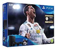 Игровая приставка Sony PlayStation 4 Slim 1Tb + FIFA 18 UK, фото 1