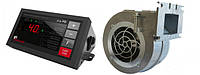Комплект автоматики котла KG Elektronik SP-30 PID (c датчиком выхлопа) + вентилятор Nowosolar NWS-100, фото 1