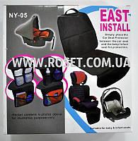 Захисна накидка для автомобільних крісел з органайзером - East Install