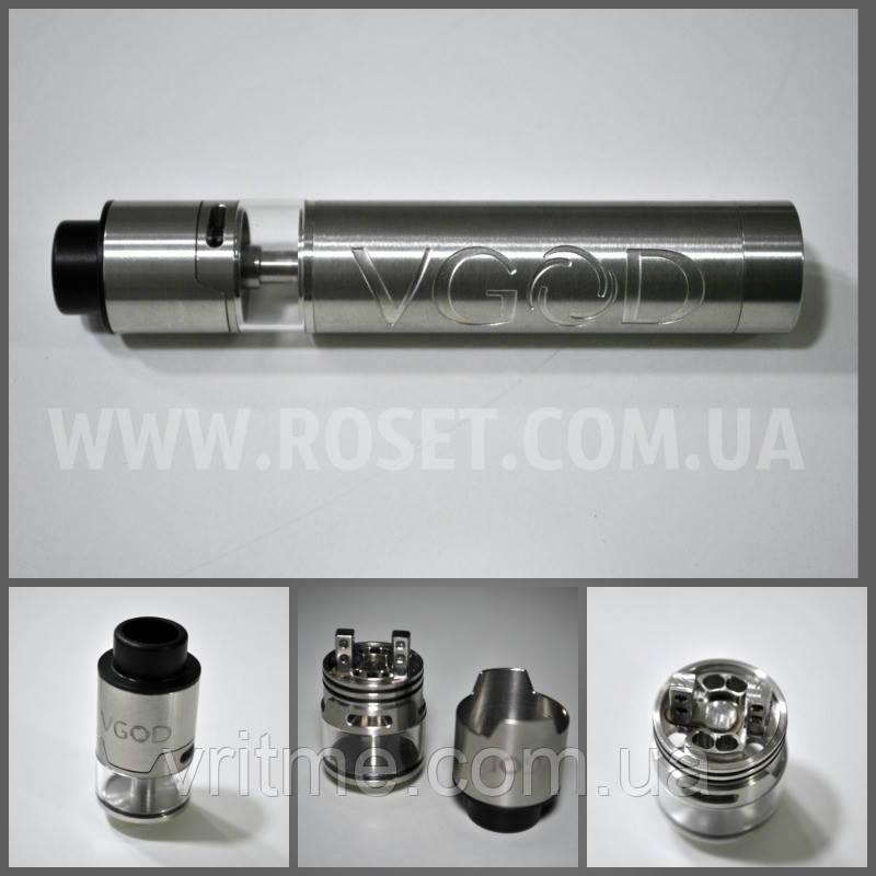 Электронная сигарета - VGOD PRO Mech RDTA полностью обслуживаемая