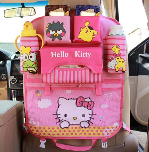 "Автомобильный  детский органайзер ""Hello Kitty"""