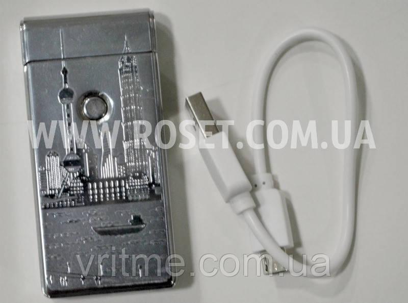 Зажигалка электронная Jin Jun Hong Kong USB Charge