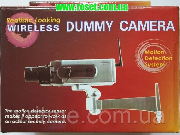 Реалистичная беспроводная манекен-камера Realistic looking wireless dummy camera РТ-1400А