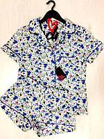 НОВИНКА! Женский комплект рубашка с шортами